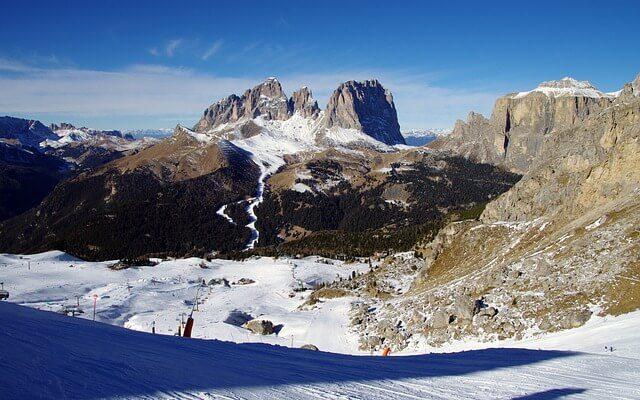 Italské středisko Dolomity superski