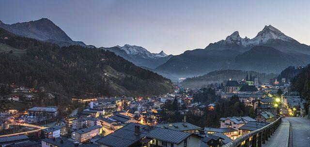 Lyžařské město Allgau