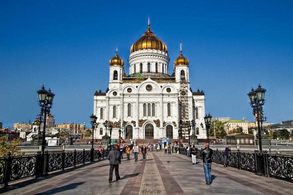 Katedrála Krista Spasitele, Moskva