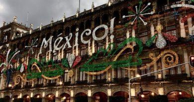 Mexiko budova