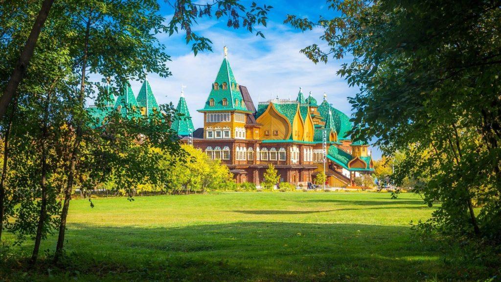 Park Kolomenskoje, Moskva