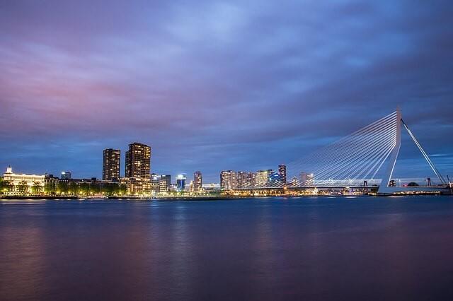 Přístavní město Rotterdam