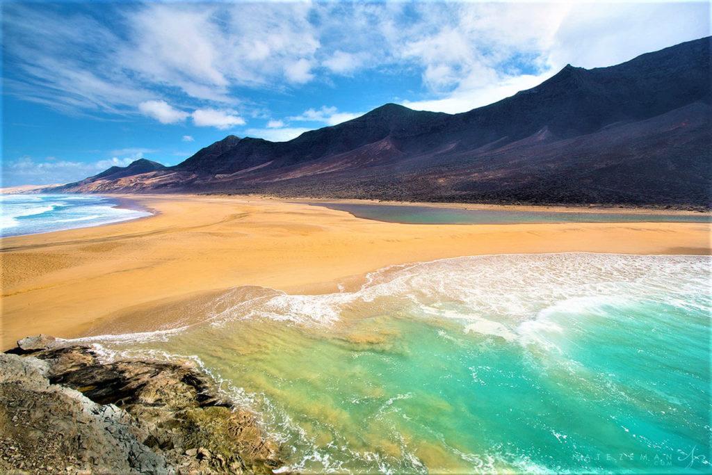 Playa de Cofete - Fuerteventura - Kanárské ostrovy