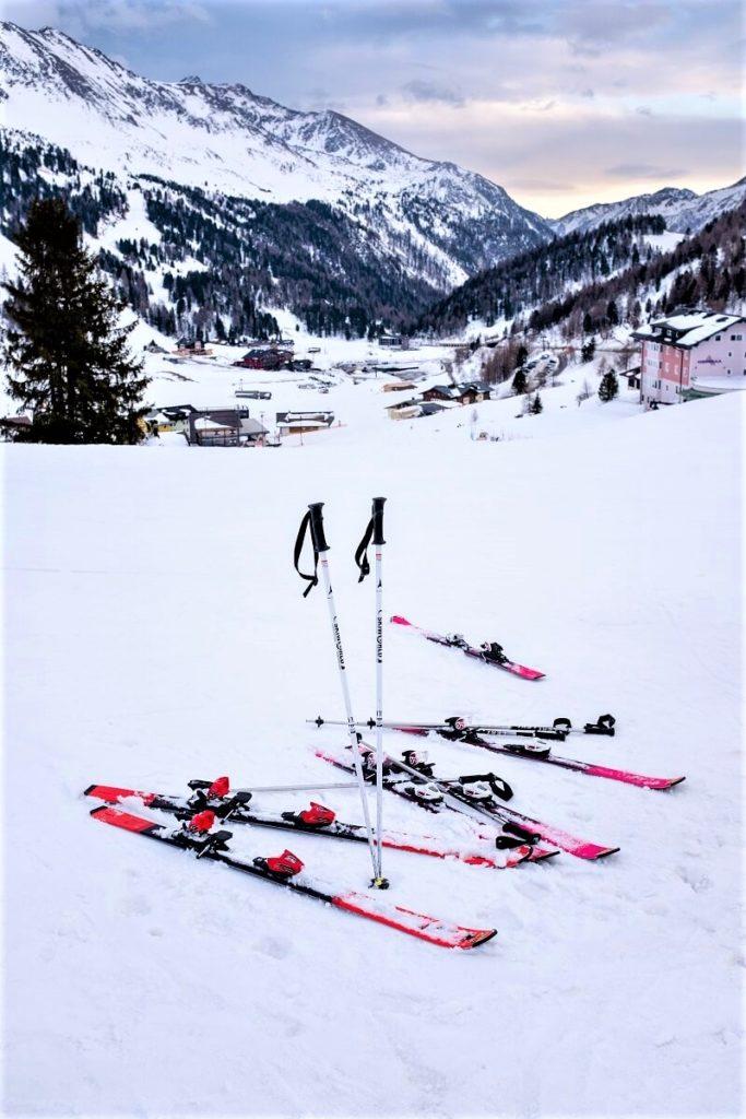 Lyžařské vybavení na hory