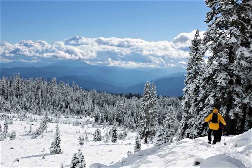 Zimní procházka po horách