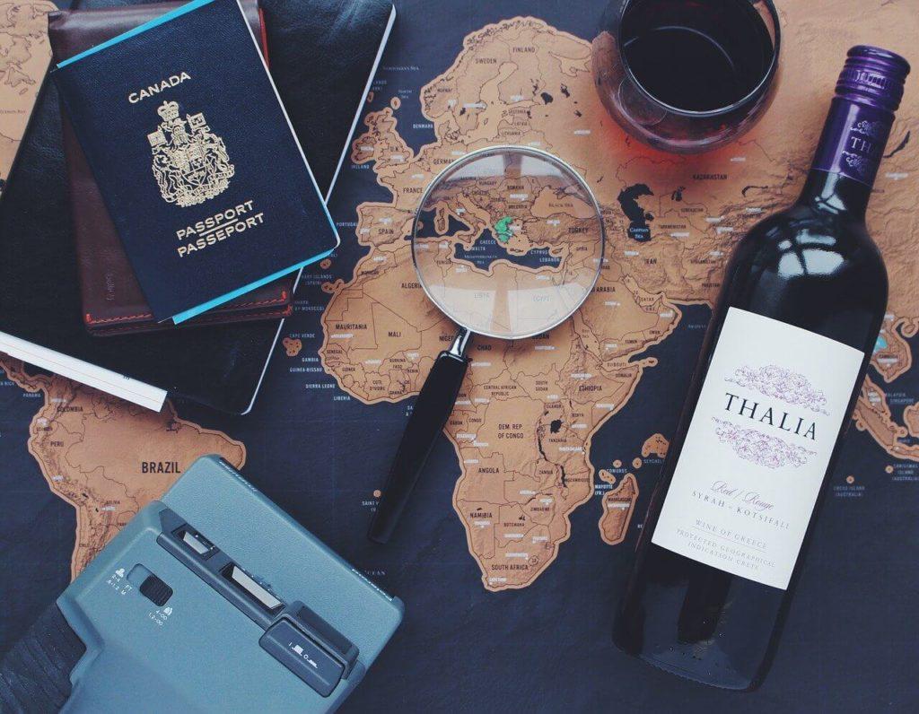 Příprava na cestování