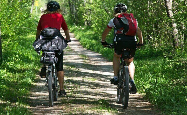Jízda na kole českou přírodou