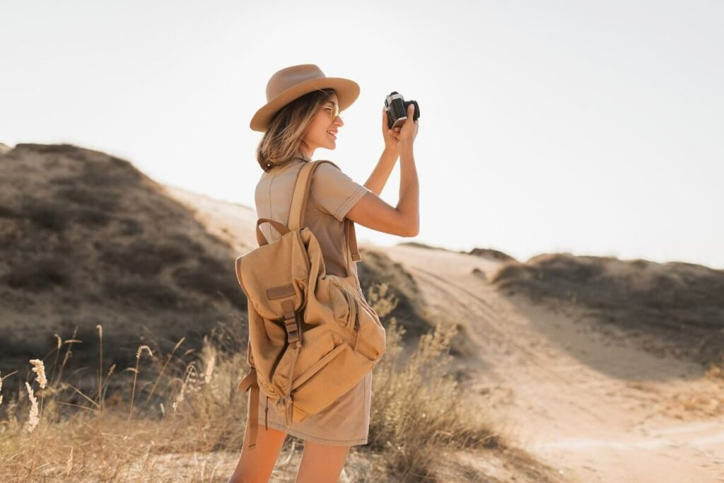 Fotografka Safari v Africe